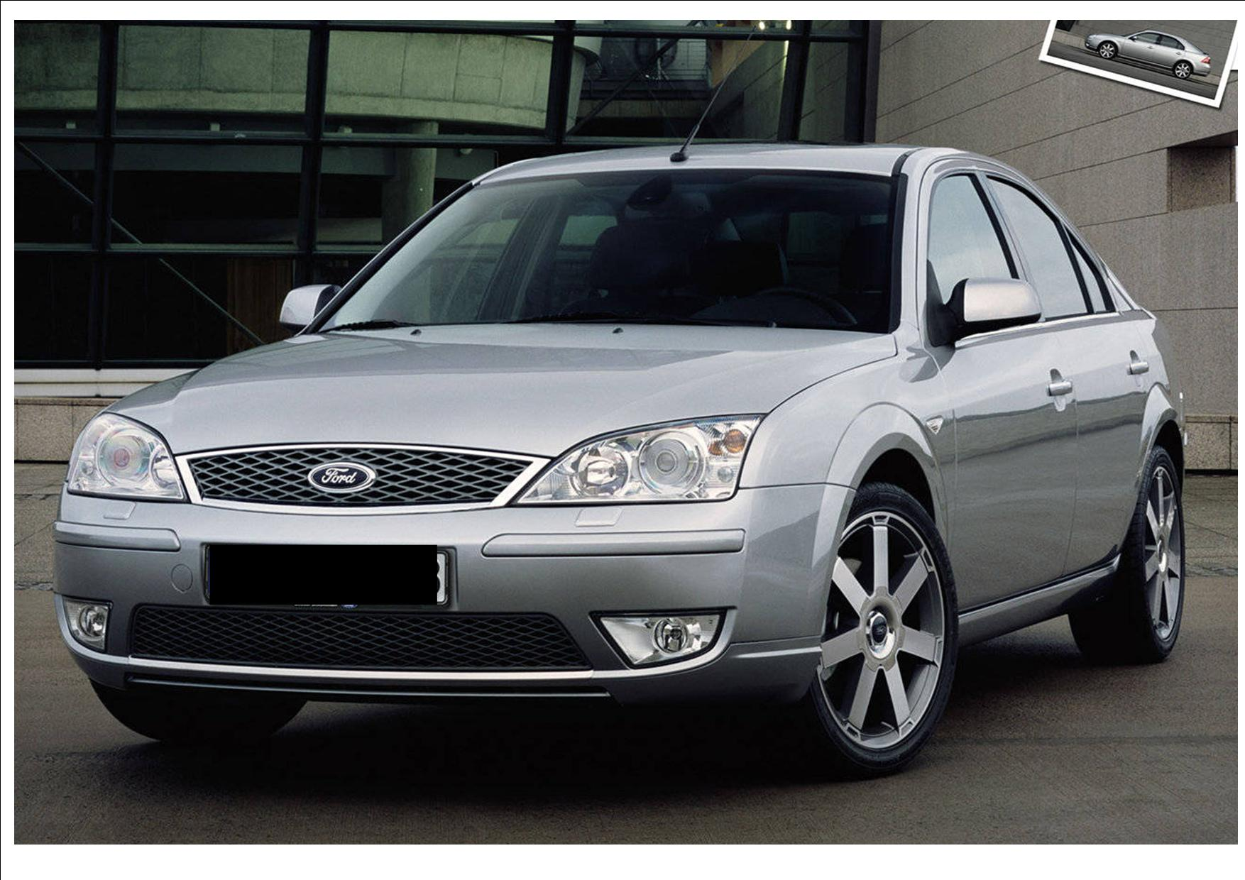 Listing All Parts For Ford Mondeo 2004 2006 Api Nz