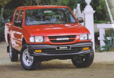 Listing All Parts For Holden Isuzu Rodeo 1999 2001 Tfr S