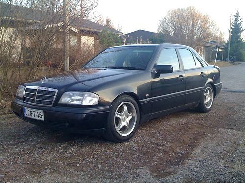 Listing all parts for mercedes benz c class 1993 2000 w202 for Mercedes benz 2000 models